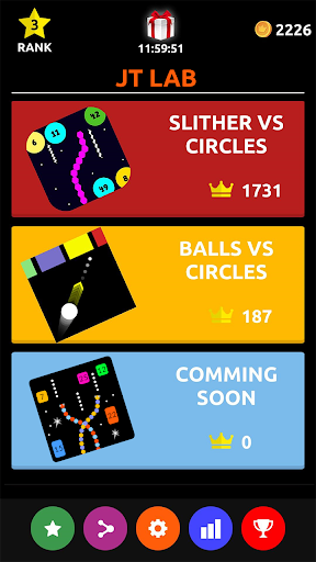 Slither vs Circles: All in One Arcade Games  {cheat|hack|gameplay|apk mod|resources generator} 1