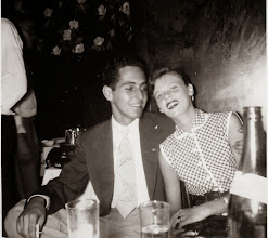 Photo: Al Barra and first wife