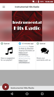 Instrumental Hits Radio- screenshot thumbnail