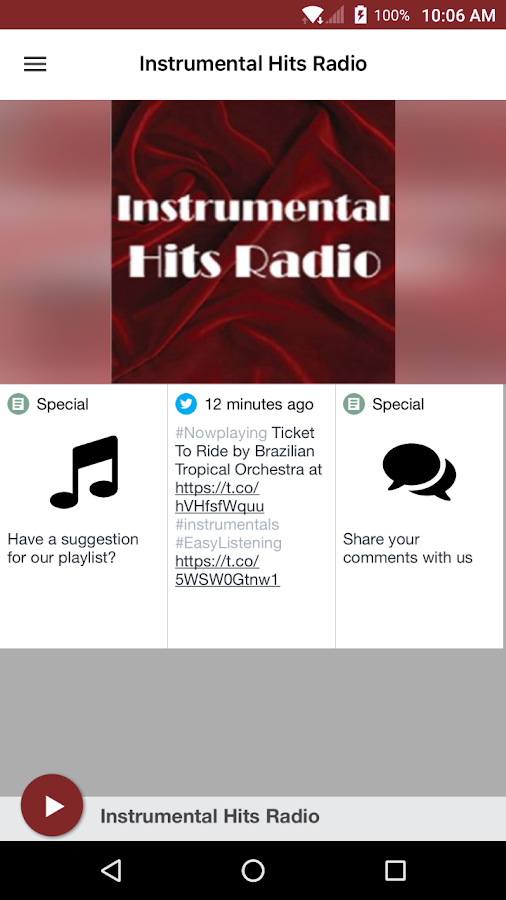 Instrumental Hits Radio- screenshot