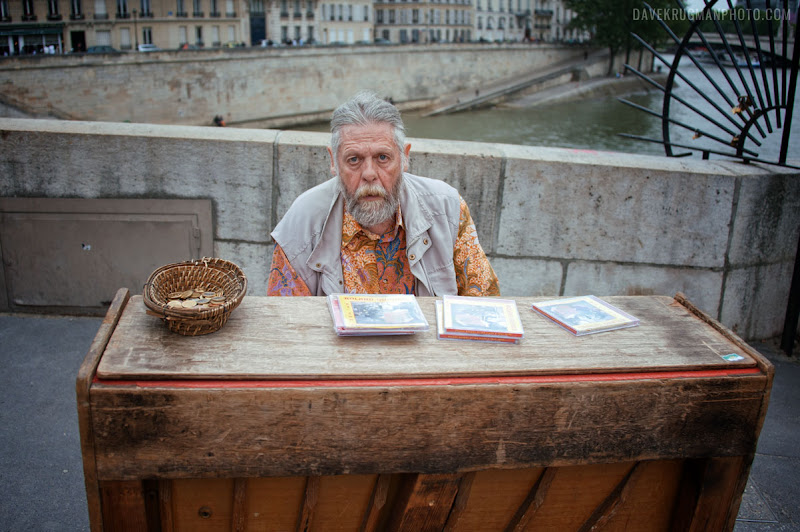 Photo: A Bit Closer  This guy was rocking that harpsichord.  #100strangers #streetphotography #paris