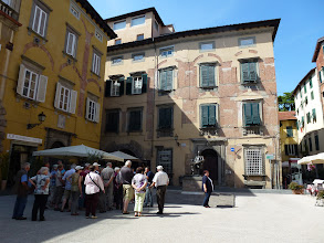 Photo: Puccini's home and birthplace in Lucca