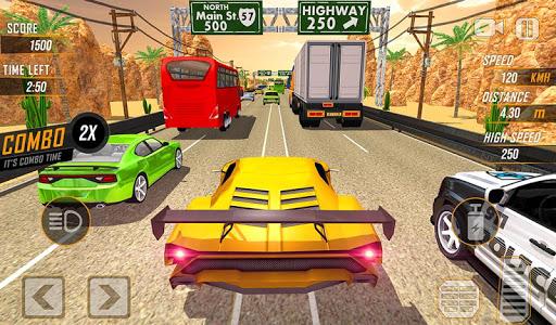 Racing in Highway Car 2018: City Traffic Top Racer 1.1.4 screenshots 2