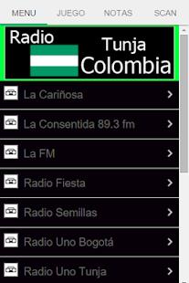 Radio Tunja Colombia - náhled