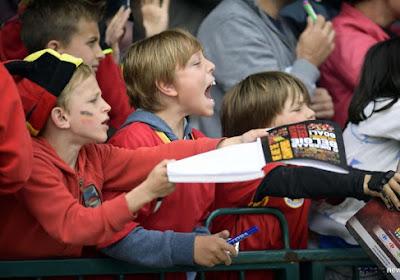 Één zijn met de Rode Duivels doe je op Football Plaza: Kids Day!