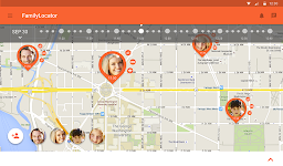 screenshot of Zoemob Family Locator