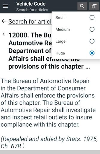 California Vehicle Code 0.04 screenshots 5