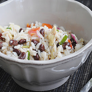 Chicken, Rice and Bean Salad