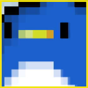The Penguin In Space - pixel game Un juego Difícil