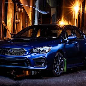Subaru WRX light painting by Matt  Glenn - Transportation Automobiles