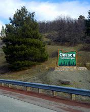 Photo: Welcome to Oregon!