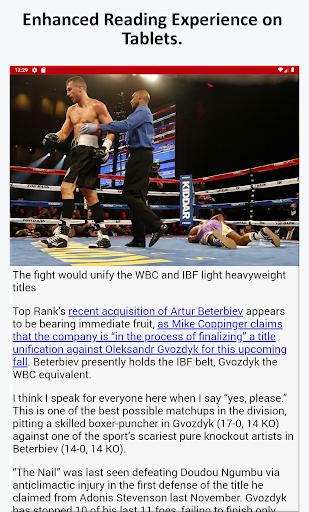 Boxing News, Videos, & Social Media 3.7 screenshots 7