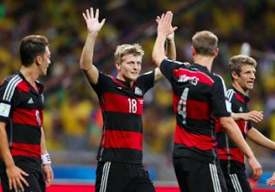 Duitse nachtrust verstoord in nacht voor finale