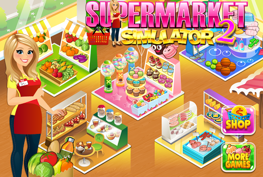 Supermarket Grocery Store Girl - Supermarket Games filehippodl screenshot 6