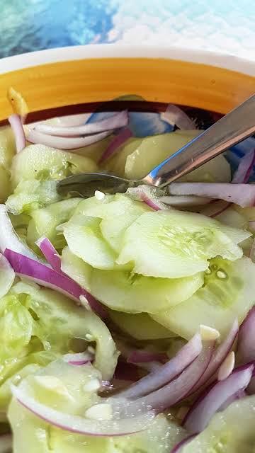 Dutch Cucumber Salad