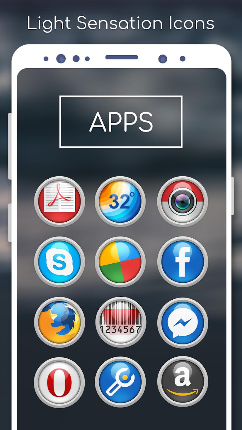 Light Sensation Icon Pack Screenshot 2