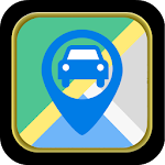 GPS Car Parking Icon