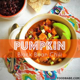 Food Babe's Pumpkin Black Bean Chili