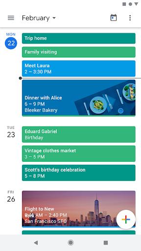 Google Calendar 6.0.2-213980666-release screenshots 1