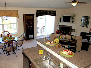 Photo: The main living area in our BAYBERRY model at our Whitehall Pointe condo's in Albany, New York