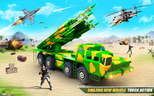 US Army Robot Missile Attack: Truck Robot Games modavailable screenshots 10