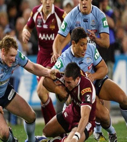 New South Wales beat Queensland in State of Origin