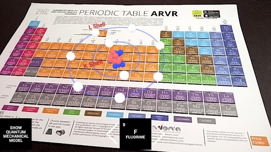 Periodic table arvr android apps on google play periodic table arvr screenshot thumbnail urtaz Images