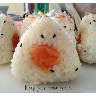 Japanese Salmon With Sesame Seeds.