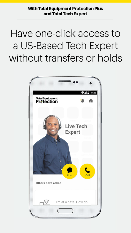 sprint tech support chat app
