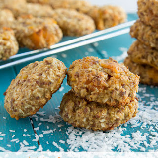 Quinoa Coconut Mango Breakfast Cookies.