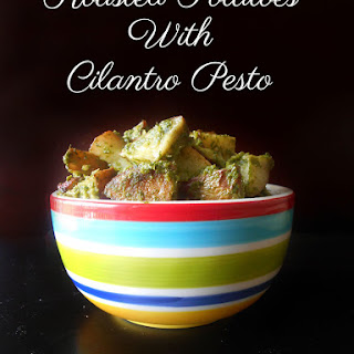 Roasted Potatoes with Pesto