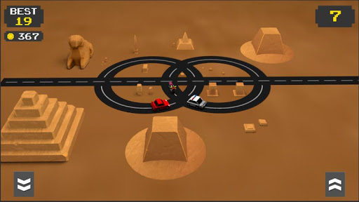 Circle Traffic Run : Crossy Crash 1.1 screenshots 1