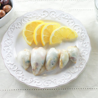 Stuffed Squid | Kalamarakia Yemista
