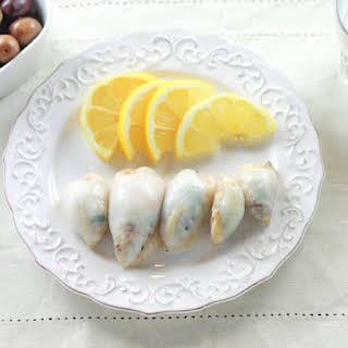 Stuffed Squid | Kalamarakia Yemista.