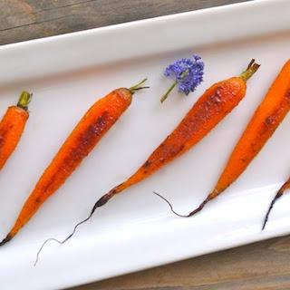 Cardamom-Honey Roasted Baby Carrot