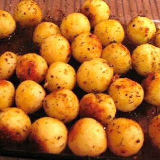 Portuguese Style Parisienne Potatoes.