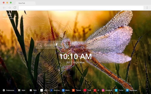 Morning New Tab Page HD Wallpapers Themes