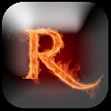 R Letters Wallpaper HD icon