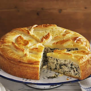 Chard Double Pastry Pie.
