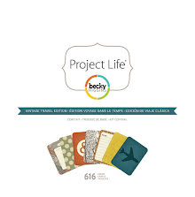 Project Life Core Kit - Vintage Travel Edition