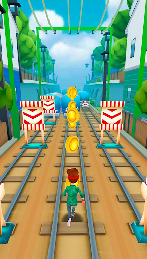 Subway Train Surf Plus apktreat screenshots 2