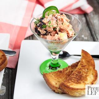 Savory Salmon, Cranberry & Pineapple Salad