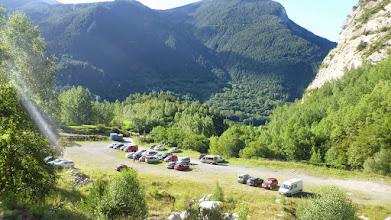 Photo: Dejo el aparcamiento que hay algo más arriba del camping