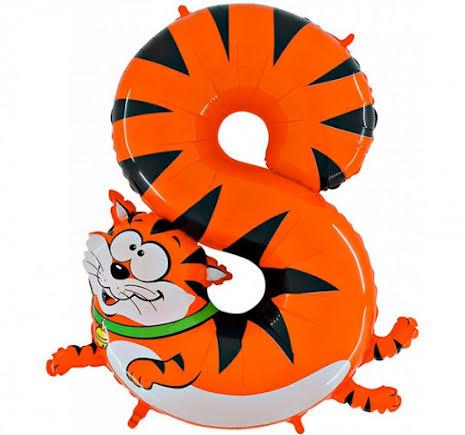 Animaloons sifferballong - 8