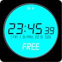 Digital Watch Face Free icon