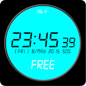 Digital Watch Face Free
