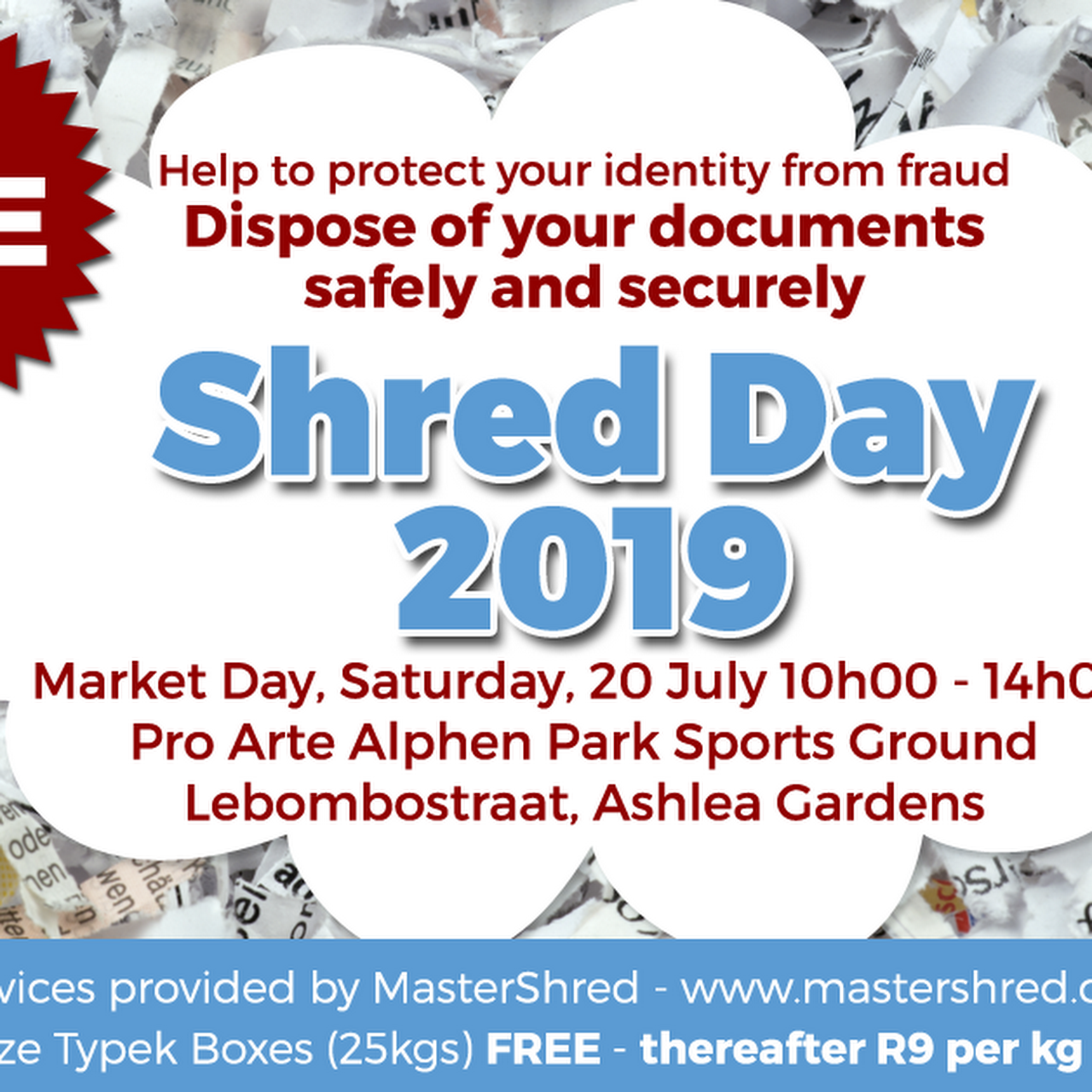 MasterShred - Shredding Service in Garsfontein