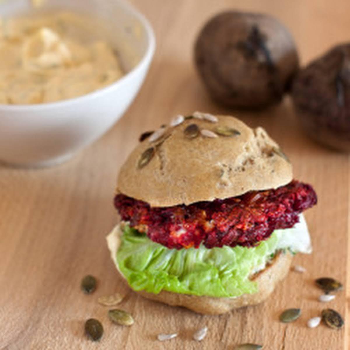 Beet & Bean Burger (Northstar Burger)