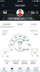 NASCAR MOBILE - náhled