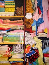 Photo: closet / canvasF20, acryl, 2008
